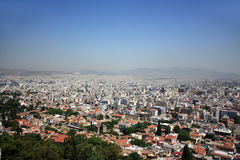 View over Athens, Greece Stock Photo