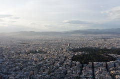 View over Athens, Greece Royalty Free Stock Image