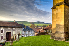View over Avioth, France Royalty Free Stock Photos