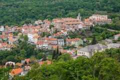 A view over Bakar medieval village Royalty Free Stock Photo