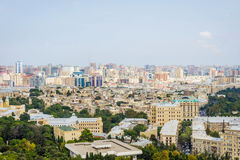 View over Baku downtown, Azerbaijan Stock Photos