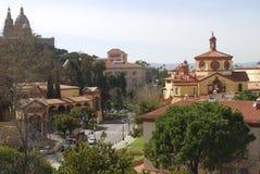 View over Barcelona. Catalonia. Spain Stock Photos