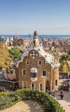 View over Barcelona from Park Guell Stock Photos