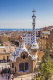 View over Barcelona from Park Guell Stock Image
