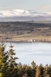 View over Beauly Firth from Craig Phadrig in Inverness. Royalty Free Stock Images