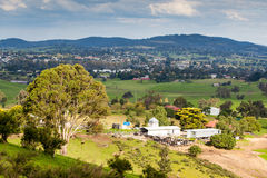 View over Bega Royalty Free Stock Images