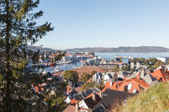 View over Bergen Stock Photos