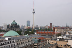 View over berlin Stock Photography