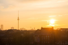 View over Berlin Royalty Free Stock Images