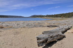 View over Big Bear Lake, California Royalty Free Stock Photography