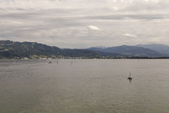 View over Bodensee Royalty Free Stock Image