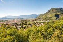 View over Bolzano Royalty Free Stock Image