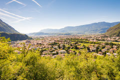 View over Bolzano Stock Photos