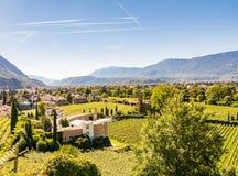 View over Bolzano Royalty Free Stock Photography