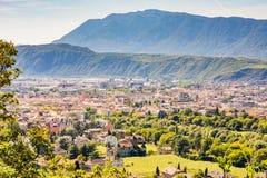 View over Bolzano Stock Photo