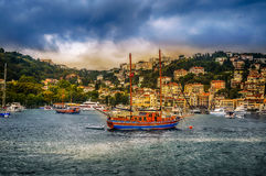 A view over the bosphorus Royalty Free Stock Photo