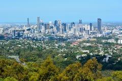 View over Brisbane, Australia stock photos