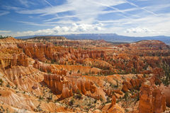 View over Bryce Canyon National Park Stock Photo