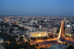 View over Bucharest Stock Images