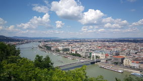 View over Budapest royalty free stock image