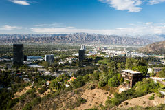 View over Burbank Stock Photography