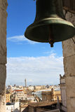 View over Cadiz from belfry Poniente, Spain Stock Photos