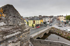 View over Cahir Royalty Free Stock Photography