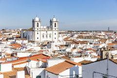 View over Campo Maior city, Portalegre district, Portugal. A view over Campo Maior city, Portalegre district, Portugal royalty free stock photography