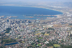 View over Cape Town Royalty Free Stock Image