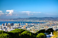 View over Cape Town Royalty Free Stock Photography
