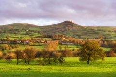 House on hill,Peak district UK Royalty Free Stock Photos