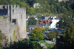 View over chepstow Royalty Free Stock Images