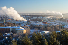 View over the city of Tampere, Finland Stock Photography