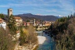 A view over Cividale del Friuli Stock Photo
