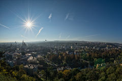View over Cluj-Napoca Royalty Free Stock Photos