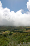 View over the coast of the Azores. Portugal Royalty Free Stock Image