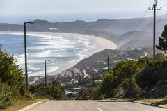 View over coast on the Garden Route, South Africa. View over coast on the Garden Route in South Africa stock photography