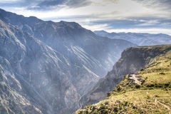 View over the Colca Canyon Stock Photos
