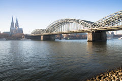 View over Cologne in Germany Stock Images