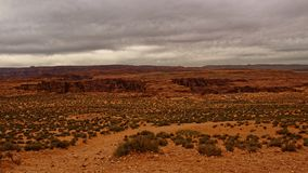 Colorado river at Horseshoe Bend in Arizona royalty free stock photo