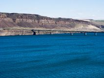 Columbia river in Washington state, USA royalty free stock images