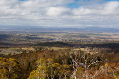 View over Cooma Royalty Free Stock Photo