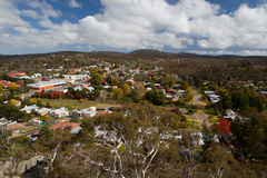 View over Cooma Stock Photos