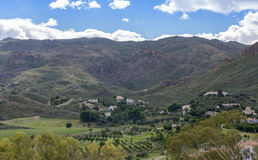 View Over Cortijo Grande Golf Course to Cabrera Royalty Free Stock Photography