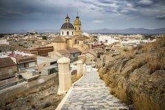 View over Cox town in Vega Baja Alicante province, Comunidad Valenciana, Spain stock photo