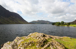 View over Crummock Water in Lake District Stock Image