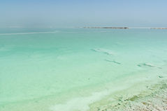 View over the Dead sea Royalty Free Stock Photography