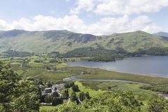 View over Derwentwater, English Lake District Royalty Free Stock Photo