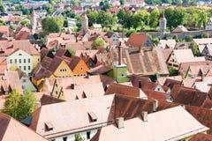 View over Dinkelsbuehl Stock Images