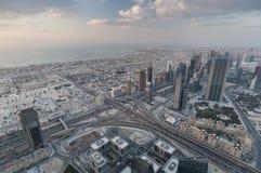 View Over Dubai Stock Photo